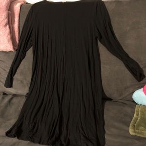 Old Navy long sleeve jersey swing dress